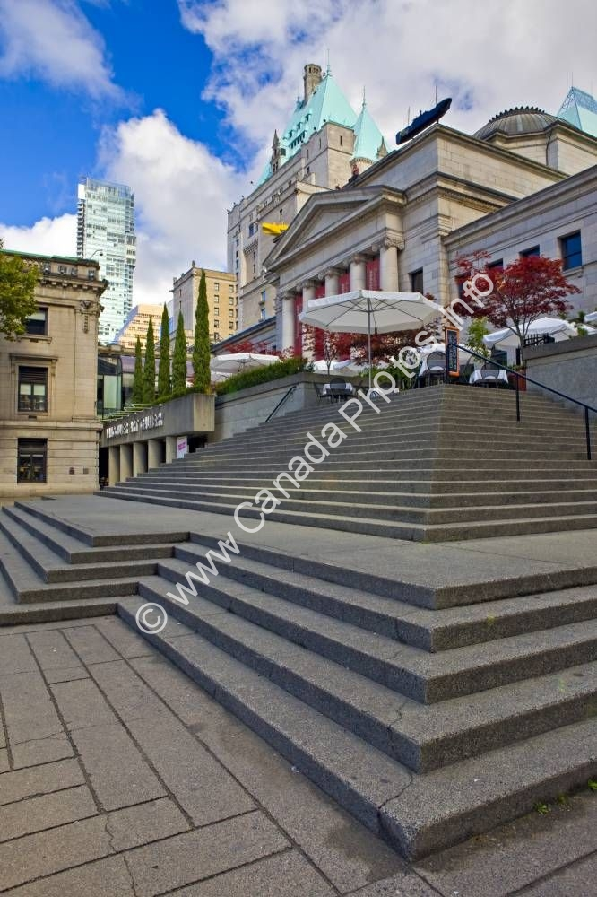 Photo City of Vancouver Art Gallery Architecture