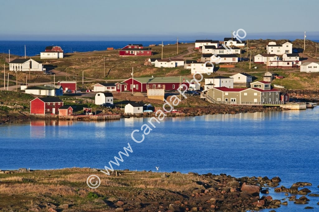 Photo Former Basque Whaling Station Fishing Village Red Bay Labrador