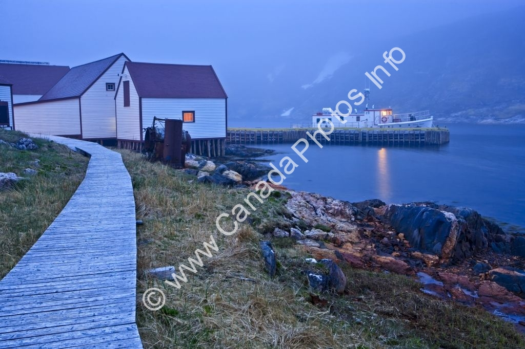 Photo Historic fishing Village Battle Harbour Labrador