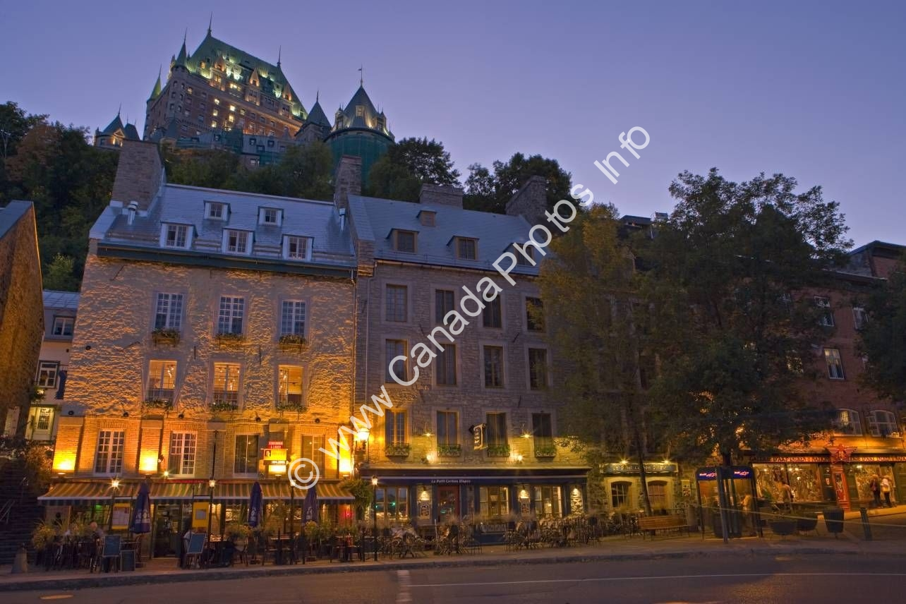 Photo Historic Quebec City province of Quebec Canada