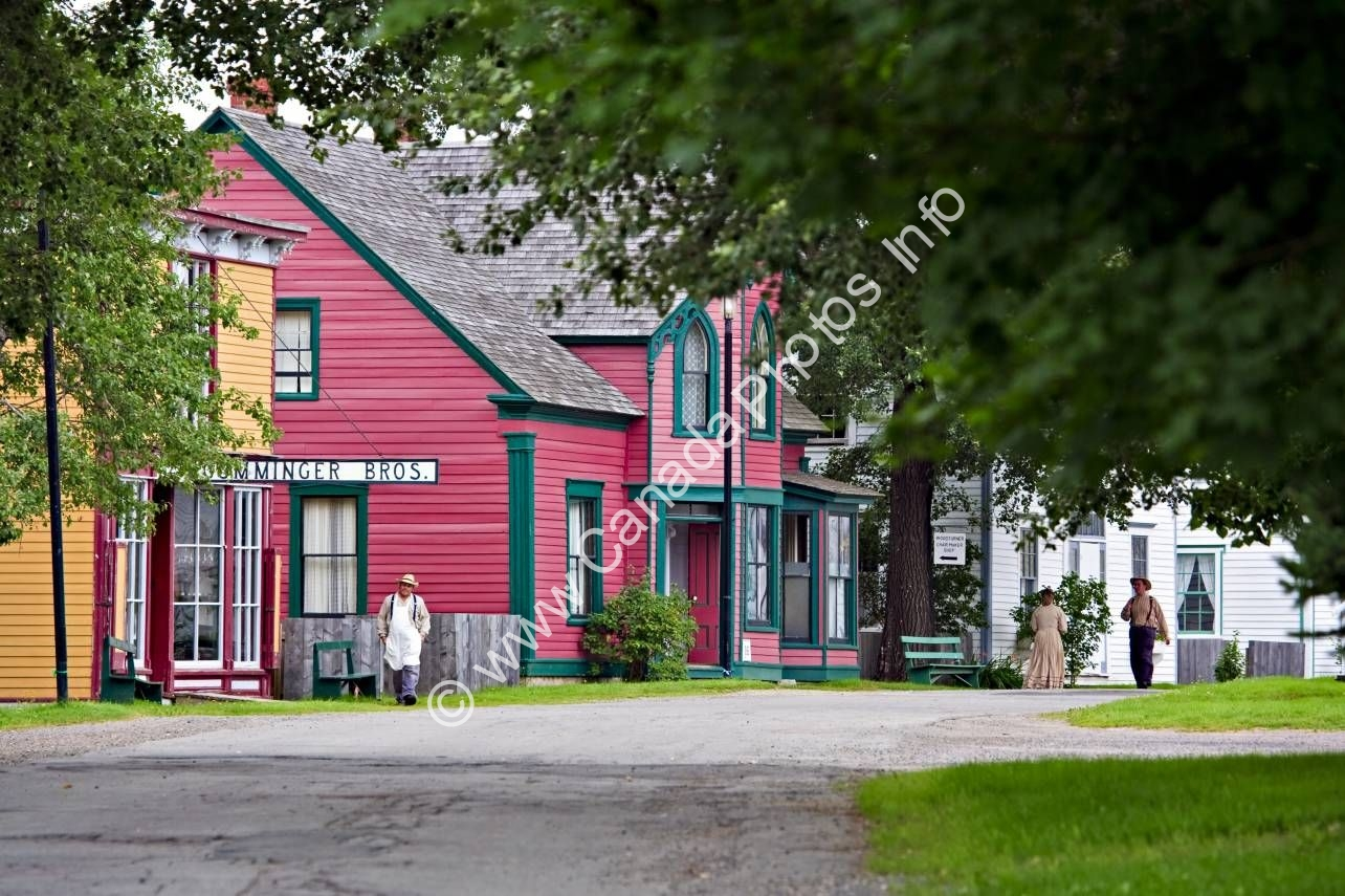 Photo Historic Sherbrooke Village Nova Scotia Canada
