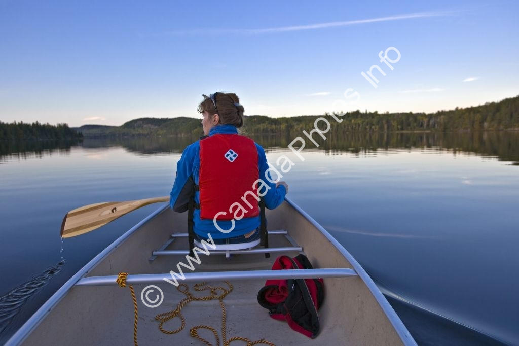 Photo Outdoor Activity Canoeing Algonquin Provincial Park
