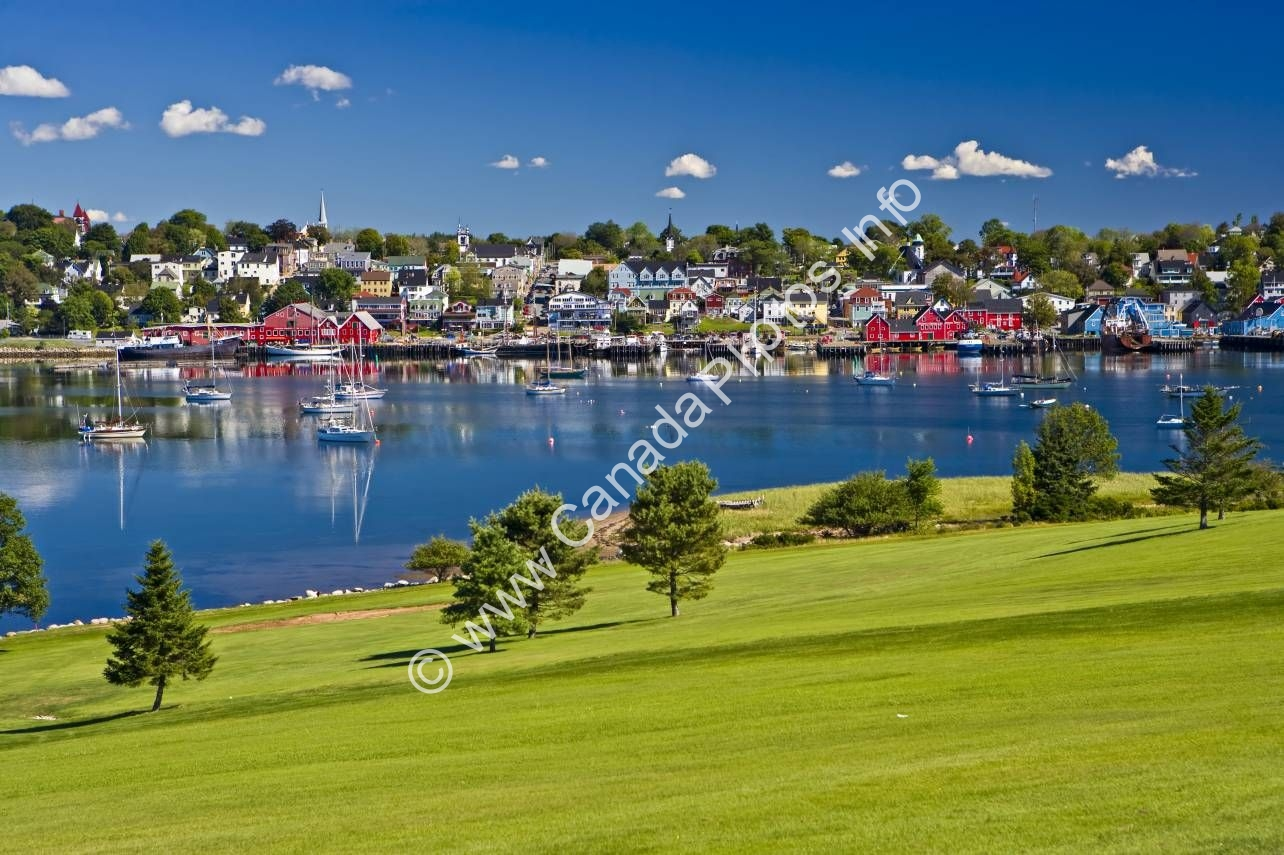 Photo Photo Town of Lunenburg Nova Scotia