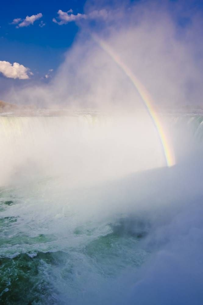 Photo Rainbow Niagara Falls Ontario