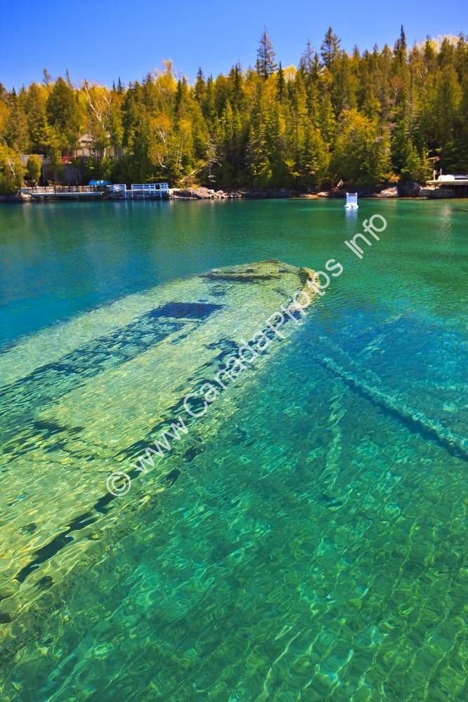 Photo Shipwreck Sweepstakes Fathom Five National Marine Park