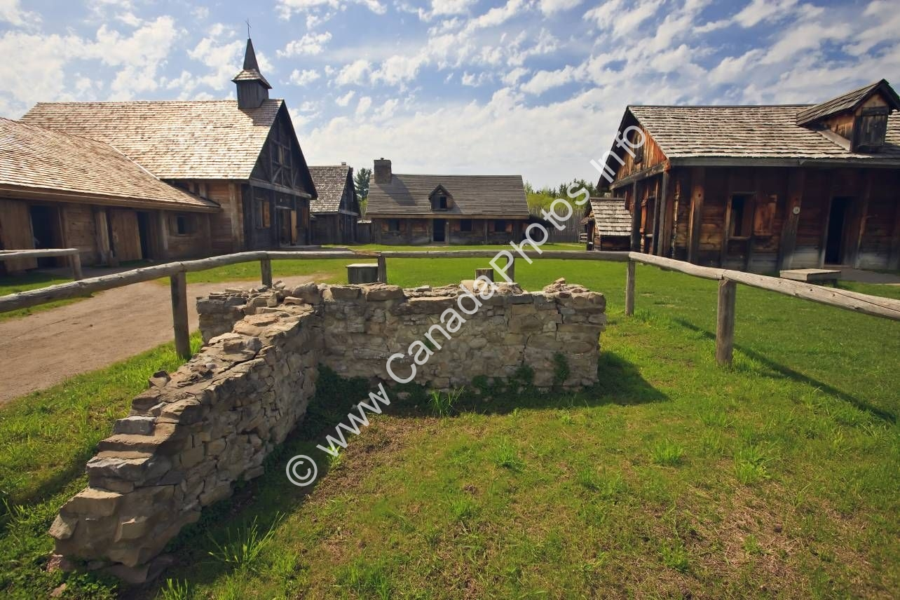 Photo Tourist Attraction Sainte Marie among the Hurons Midland