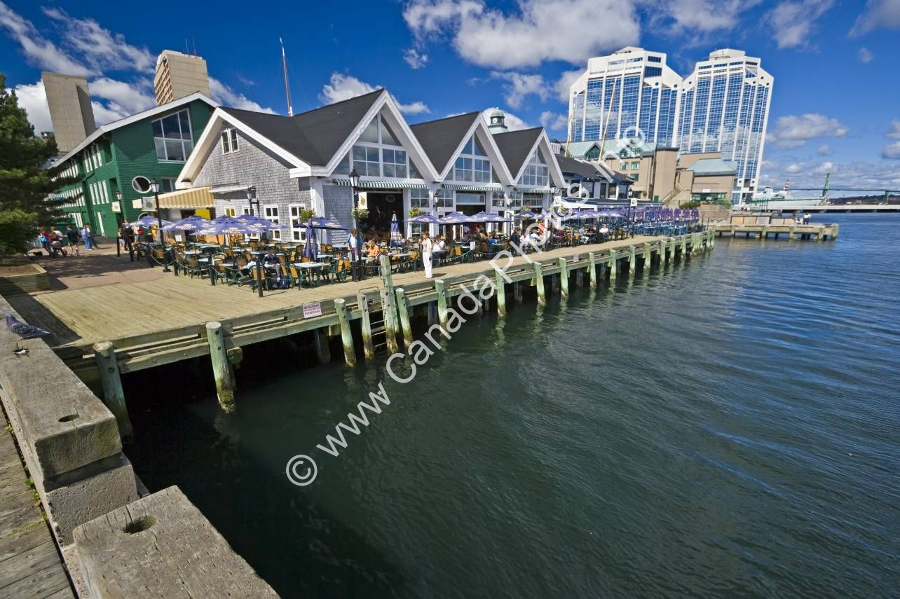 Photo Waterfront Halifax Nova Scotia