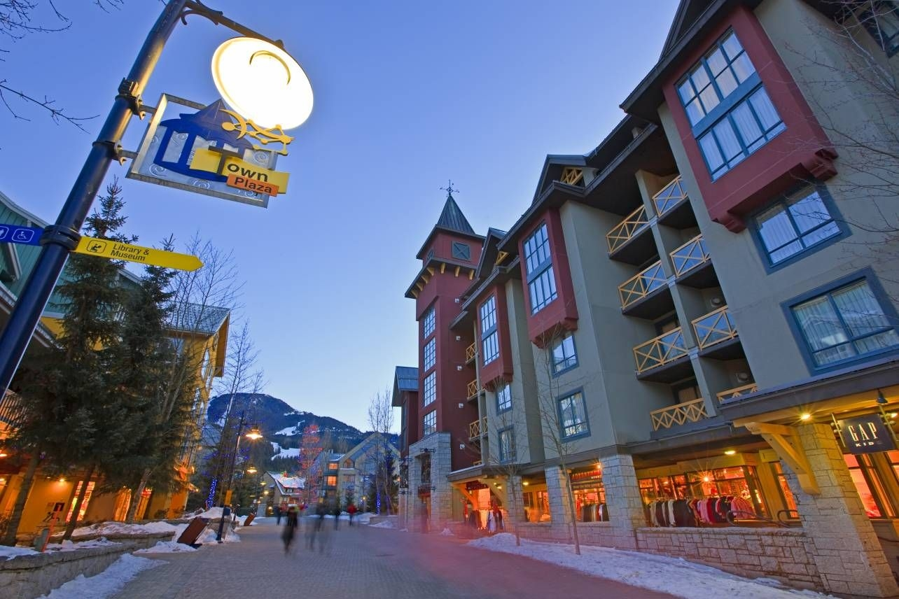 Photo Whistler Village Winter