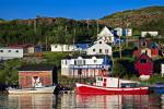 One of those beautiful typical fishing harbors of Newfoundland, Fleur de Lys.