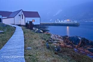 A unique and amazing tourist attraction is the old historic fishing village of Battle Harbour in Southern Labrador.