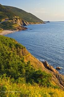 Nature pure at the Cape Breton Highlands National Park along the Cabot trail in Nova Scotia.