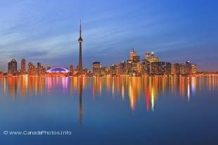 The largest City in Canada and Ontario is Toronto located on Lake Ontario.