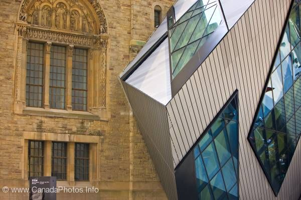 photo of Old And New Architecture Royal Ontario Museum Toronto