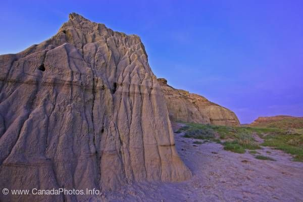 photo of Castle Butte Big Muddy Badlands Saskatchewan