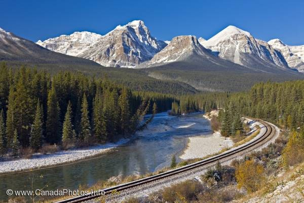 photo of Bow River Banff National Park Winter