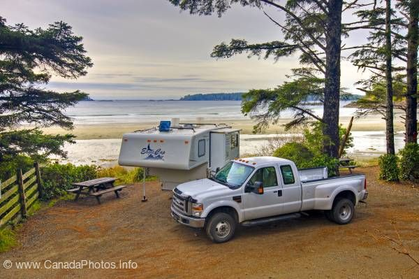 photo of Beach Camping Tofino Vancouver Island