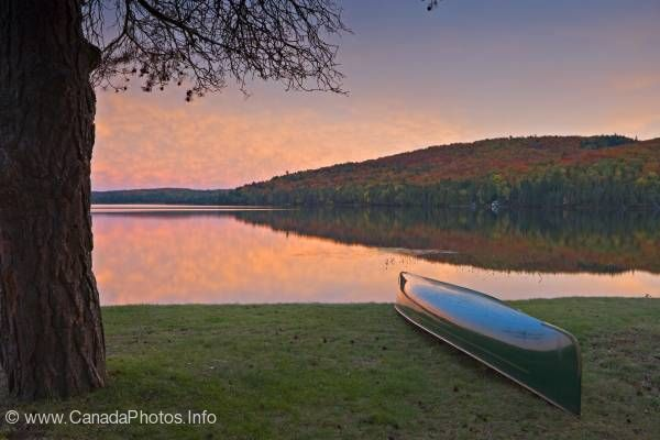photo of Canoe adventure Algonquin Provincial Park Ontario