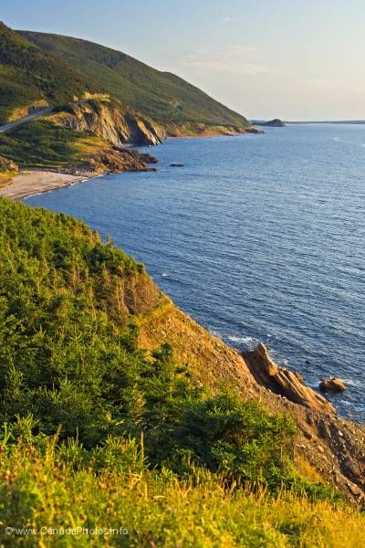photo of Cape Breton Highlands National Park Cabot Trail Nova Scotia
