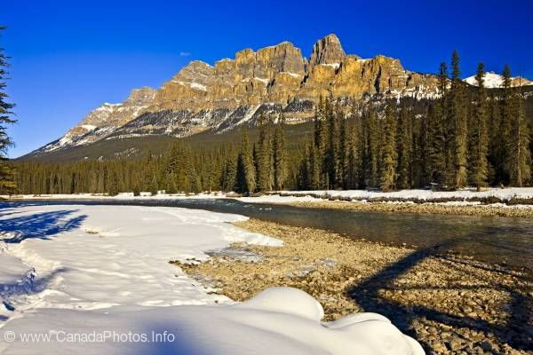 photo of Castle Mountain Banff National Park
