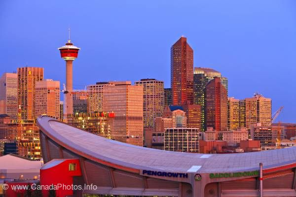 photo of Cityscape Skyscrapers Calgary