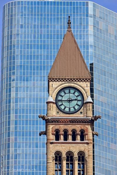 photo of Clock Tower Old City Hall Toronto Ontario