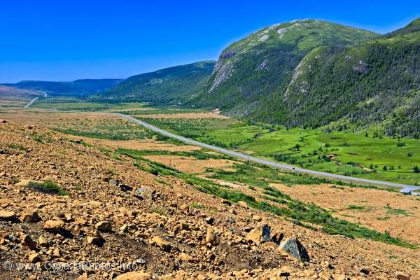 photo of Earth's mantle Tablelands Gros Morne National Park Newfoundland