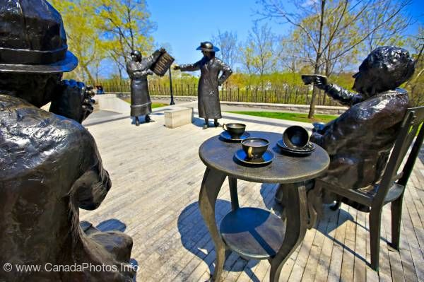 photo of Famous Five Women Monument Ottawa