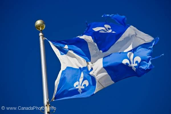 photo of Official Flag Quebec Canada