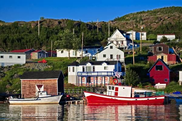 photo of Fleur de Lys fishing Harbor Newfoundland