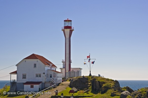photo of Cape Forchu Lighthouse Yarmouth Harbour Nova Scotia