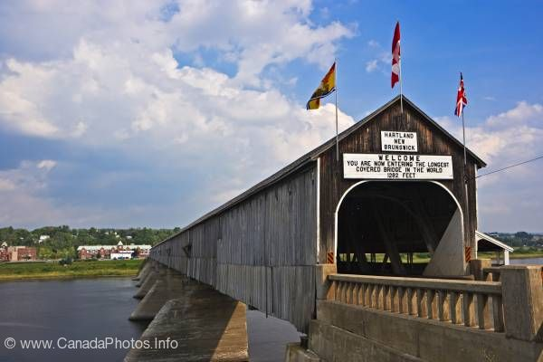 photo of Hartland Covered Bridge New Brunswick