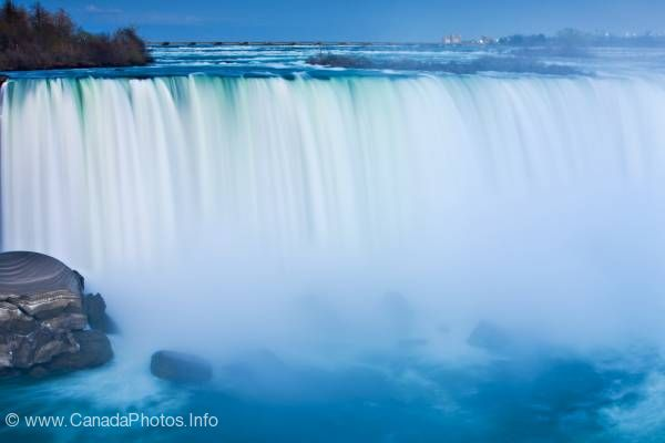 photo of Waterfall Dusk Horseshoe Falls Niagara Falls