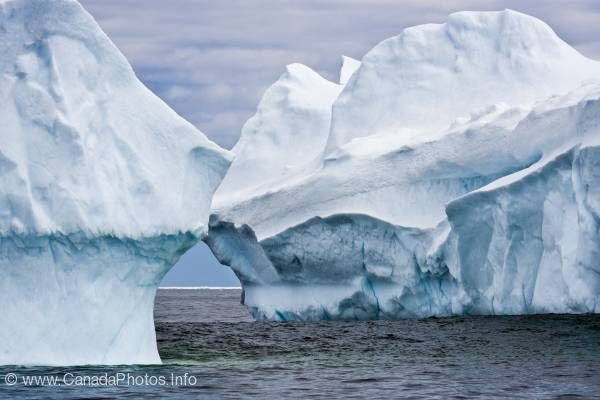 photo of Atlantic Icebergs Newfoundland Coast
