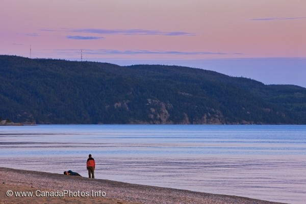 photo of Peaceful Evening Lake Superior Provincial Park