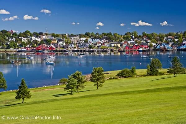 photo of Photo Town of Lunenburg Nova Scotia