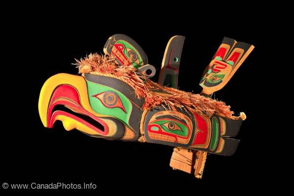 photo of Native culture original West coast native art carving