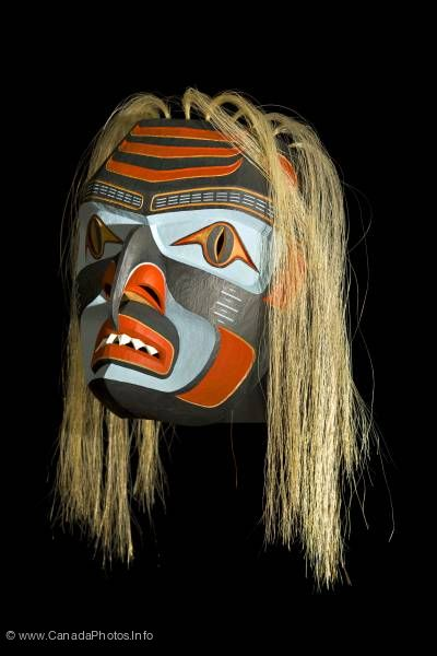 photo of Native Art Shark Mask