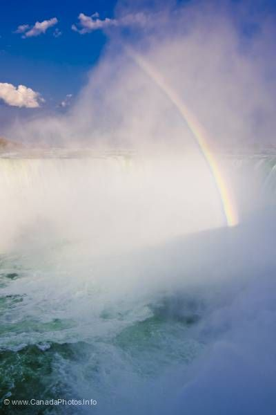 photo of Rainbow Niagara Falls Ontario