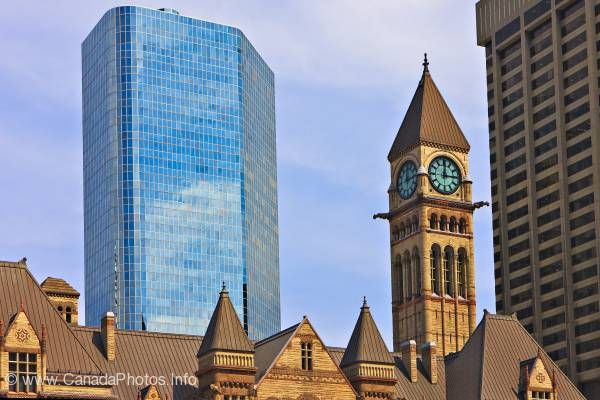 photo of Skyscraper Old City Hall Toronto Ontario