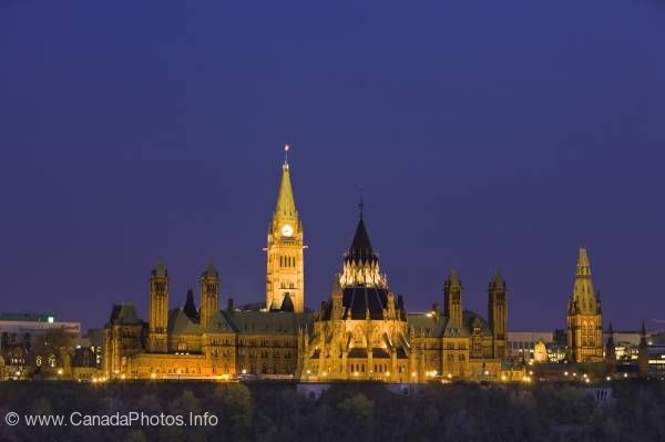 photo of Parliament Hill Ottawa Ontario Canada
