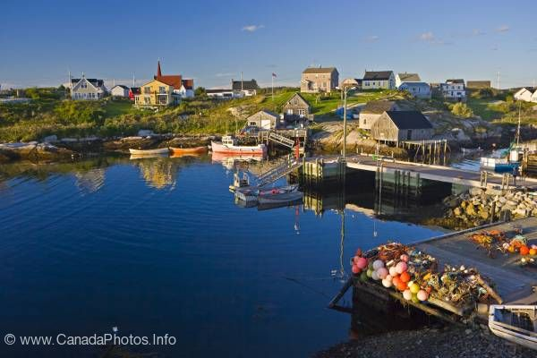 photo of Old fishing village Peggys Cove Nova Scotia