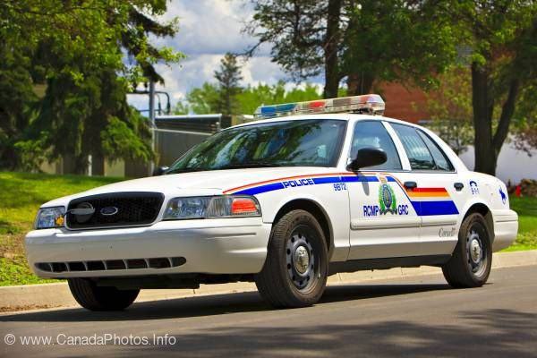 photo of Canadian RCMP Police Car