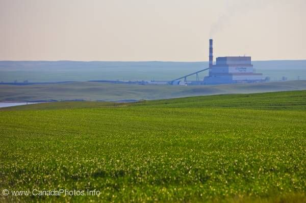photo of Poplar River Power Station Southern Saskatchewan