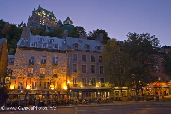 photo of Historic Quebec City province of Quebec Canada