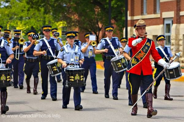 photo of RCMP Academy Parade Regina Saskatchewan