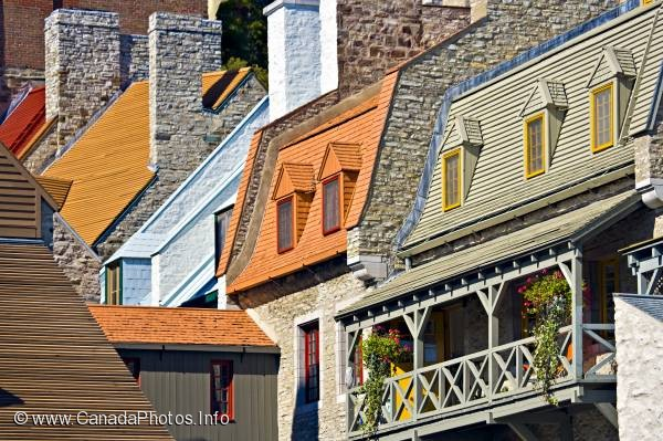 photo of Quebec City Building Rooftops