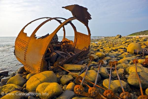 photo of Shipwreck Gros Morne National Park World Heritage Site