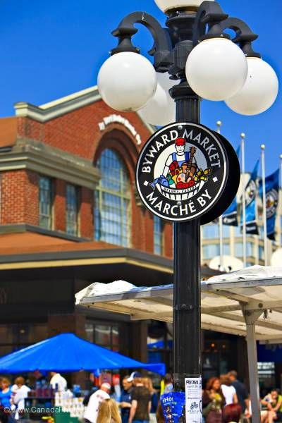 photo of Sign Byward Market Ottawa
