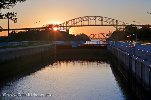 photo of Soo Locks International Bridge Sault Ste Marie