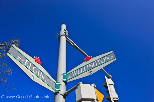 photo of Street Direction Signs Ottawa City